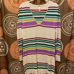 FREE PEOPLE GIDGET MINI sweater DRESS